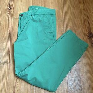 GAP khakis green SIZE 8p